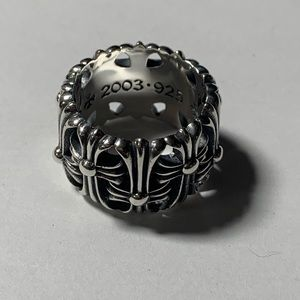 Chrome hearts cemetery ring size 10